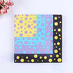 100% virgin pulp 20pcs Dot Wedding Napkins