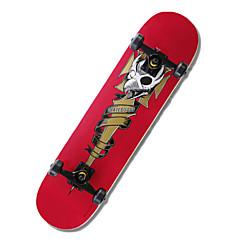아동 표준 스케이트 보드 전문적인 레드 그린