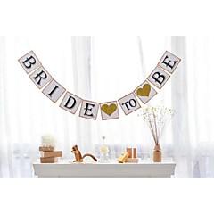 Περλέ χαρτί Διακόσμηση Γάμου-1τεμ / Σετ Άνοιξη Καλοκαίρι Φθινόπωρο Χειμώνας Μη Εξατομικευμένο Μ/Δ