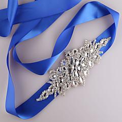 Bridal evening gown belt