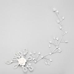 Women's Crystal Leatherette Headpiece-Wedding Special Occasion Headbands 1 Piece