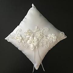 Branco 1 Fitas / Perola Imitação / Bordados Cetim / Malha