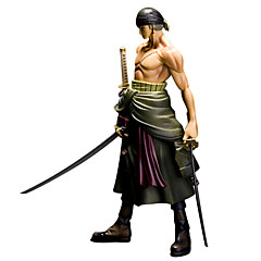 One Piece Roronoa Zoro 25CM Anime Action Figurer Modell Leker Doll Toy