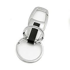 ziqiao fém autó szabványos kulcstartó kulcstartó ajándék nemes autó styling