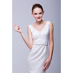 Cetim Casamento Faixa-Cristal Feminino 70 ¾polegadas(180cm) Cristal