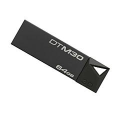 Kingston DTM30 Pen Drive 64GB USB 3.0 Mini Metal Stick Pendrive Flash Disk