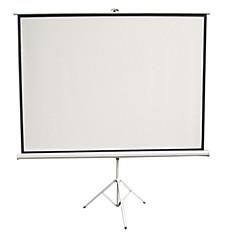 우수한 편지 프로젝터 스크린 100 인치 4 3 간단한 홈의 HD 휴대용 프로젝터 스크린 흰색 플라스틱 홀더