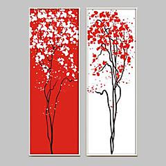 Fantasy Bekeretezett vászon / Bekeretezett szett Wall Art,PVC Fehér Háttéranyag nélkül a Frame Wall Art