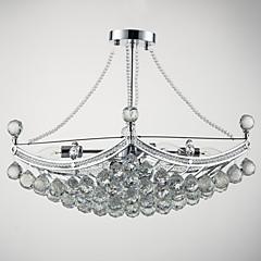 Max 40W Pendelleuchten ,  Zeitgenössisch Galvanisierung Feature for Kristall Metall Wohnzimmer / Schlafzimmer / Esszimmer