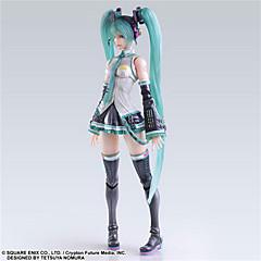 Vokaloid Hatsune Miku PVC 25cm Anime Action Figurer Modell Leker Doll Toy