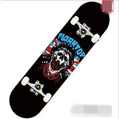 Puu Unisex Standardi SkateboardsMusta Purppura Keltainen Vihreä Sininen