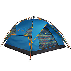 HIMAGET Brand High Quality  3 Using Way Instant  Fiberglass Frame Automatic Tent For 3-4 Person Automatic Tent