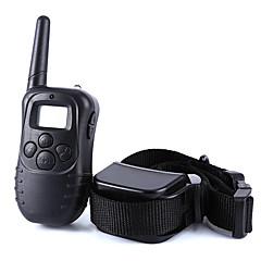 honden blafhalsband / Hondentrainingshalsbanden Anti-blaffen / LCD / Trilling / 300M / Afstandsbediening / Elektronisch/Electrisch Effen