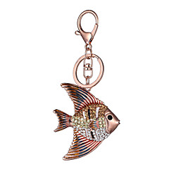 유럽과 미국의 새로운 사실적인 기타 열쇠 고리 물고기 열쇠 고리 가방 자동차 키 펜던트 발렌타인 데이 선물 공장 직접 판매