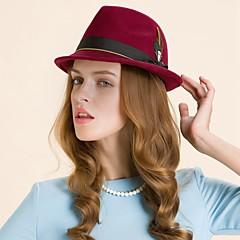 נשים נוצה צמר כיסוי ראש-חתונה קז'ואל חוץ קישוטי שיער כובעים חלק 1