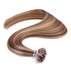 neitsi 16 '' drept ombre pre legat u unghii pont de fuziune extensii de păr uman 1 g / s 50g / lot