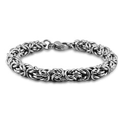 Men's Jewelry Stainless Steel Titanium Steel Unique Design Hypoallergenic Fashion Personalized Jewelry For Party Daily