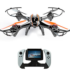 Drone Udi R / C U818S 4CH 6 Eixos 2.4G Com Câmera Quadcóptero RCFPV / Iluminação De LED / Seguro Contra Falhas / Vôo Invertido 360° /