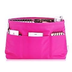Ukládání make upu Kosmetická taška / Ukládání make upu Nylon Jednobarevné 32*21*11 Rose
