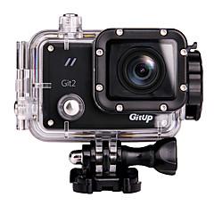 Gitup Git2 מצלמה בסגנון / מצלמת פעולה 12MP / 8MP / 3MP / 5MP / 16MP 1920 x 1080 WIFI / USB / G-Sensor / זויית רחבה 1.5 64 GB H.264 30 M