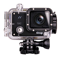 Gitup Action Kamera / Sportskamera 16MP 1920 x 1080 WIFI Vanntett Vidvinkel Multifunksjonell 60fps 1.5 30 M Stuping Sykkel Fallskjermhopp
