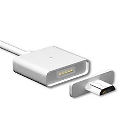 Mikro USB 3.0 Magnet Bærbar Kabel Til Samsung Huawei Sony HTC Motorola LG Lenovo Xiaomi 100 cm Metall