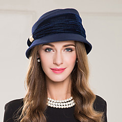 Women's Alloy Polyester Wool Headpiece-Wedding Special Occasion Casual Hats 1 Piece