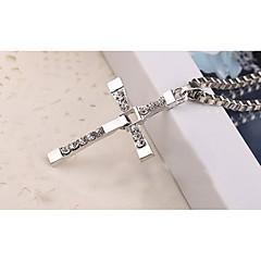 Heren Hangertjes ketting Kruisvorm Legering Meetkundig Religieus Sieraden Voor Halloween