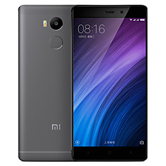 "Xiaomi Redmi4 5.0 "" MIUI טלפון חכם 4G (SIM כפול Octa Core 13 MP 3GB + 32 GB אפור מוזהב כסף)"