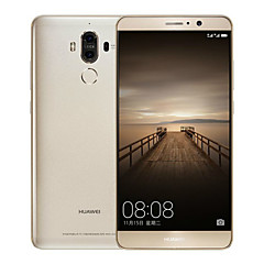 "Huawei Mate 9 5.9 "" Android 7.0 טלפון חכם 4G (SIM כפול Octa Core 12 MP 20 MP 4GB + 64 GB מוזהב לבן חום)"