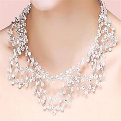 Women's Crystal Rhinestone Crystal Rhinestone Simulated Diamond Tassels Bridal Transparent Jewelry Wedding Party 1pc
