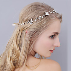Women's Rhinestone Headpiece-Wedding Special Occasion Headbands 1 Piece