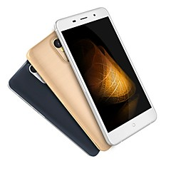 "LEAGOO M5 PLUS 5.5 "" Android 6.0 טלפון חכם 4G (SIM כפול Quad Core 13 MP 2GB + 16 GB שחור מוזהב לבן)"