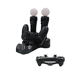 4 in 1 laadstation voor PS4 game controller / ps move / ps vr controller