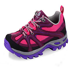 Tênis de Caminhada / Sapatos Casuais / Sapatos de Montanhismo Mulheres Anti-Escorregar / Anti-Shake / Anti-desgaste / Respirável Pele Real