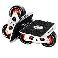 남여 공용 표준 스케이트 보드 블랙 + 실버