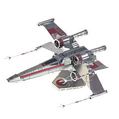 3D puzzle za dárky Stavební bloky Modelování Fighter Kov 14 a více let Růžová Hračky