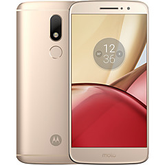 "Motorola Moto M XT1662 5.5 "" Android 6.0 4G smarttelefon ( Dobbelt SIM Octa Core 16MP 4GB + 32 GB Sølv / Gull )"