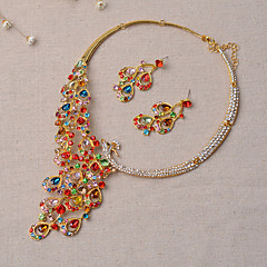 Jewelry Set Women's Anniversary Wedding / Engagement / Party / Special Occasion Jewelry Sets Alloy Rhinestone