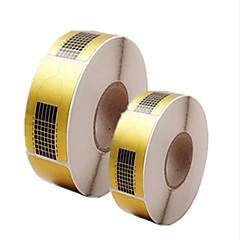 500pcs маникюрные инструменты держатель бумаги квадратной бумаги расширение акрилы бумаги фототерапии расширить пакет