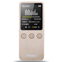 RUIZU MP3/MP4 MP3 / WMA / WAV / FLAC / APE / OGG Rechargeable Li-ion Battery