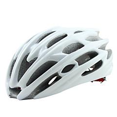 Dame / Herre / Unisex Cykel Hjelm 30 Ventiler Cykling Cykling / Bjerg Cykling / Vej Cykling / Rekreativ Cykling En størrelse PC / EPSHvid