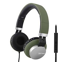 中性生成物 GS-789 ヘッドホン(ヘッドバンド型)Forメディアプレーヤー/タブレット / 携帯電話 / コンピュータWithマイク付き / DJ / ボリュームコントロール / ゲーム / スポーツ / ノイズキャンセ / Hi-Fi / 監視