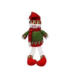 크리스마스 장난감 선물 백 홀리데이 용품 2Pcs 크리스마스 텍스타일 실버 그레이