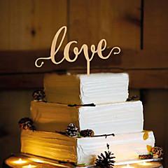 קישוטים לעוגה לא מותאם אישית חתימה שרף חתונה צהוב נושא פרפר 1 OPP
