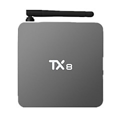 TX8 Amlogic S912X Android TV Box,RAM 2GB ROM 32GB Octa Core WiFi 802.11n Bluetooth 4.0