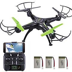 Drón SKRC Q16 4CH 6 Tengelyes 2,4 G Kamerával RC quadcopterLED Világítás / Egygombos Visszaállítás / Headless Mode / 360 Fokos Forgás / A