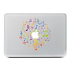 1 stk Ridsnings-Sikker Leger med Apple-logo Transparent plastik Klistermærke Mønster ForMacBook Pro 15'' with Retina MacBook Pro 15 ''