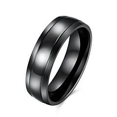 Heren Ring Europees Kostuum juwelen Roestvast staal Titanium Staal Sieraden Voor Feest Dagelijks Causaal