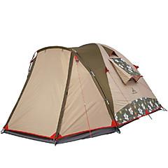 MOBI GARDEN 3-4 Pessoas Tenda Triplo Tenda Automática Um Quarto Barraca de acampamento OxfordManter Quente Prova-de-Água Portátil A Prova